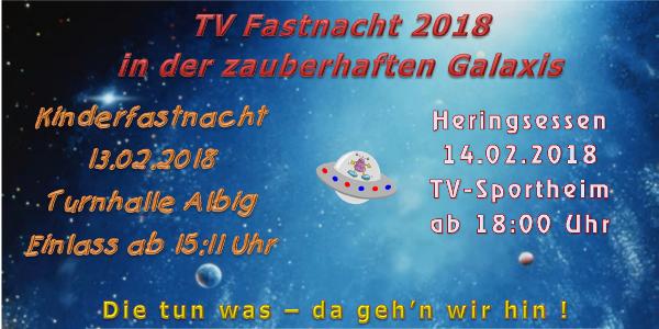 TV Fastnacht 2018