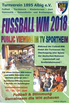 WM 2018 Flyer
